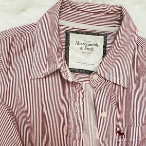 Abercrombie & Fitch button up blouse.